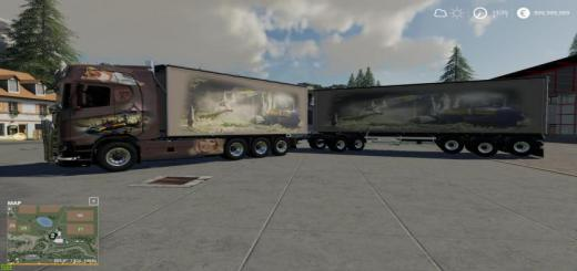 Photo of FS19 – Scaina Woodchips And Trailer V1.1