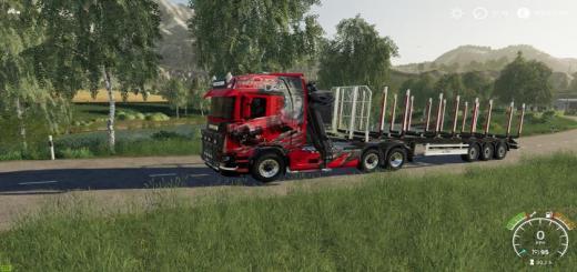 Photo of FS19 – Scania 6X6 Truck V1
