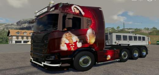 Photo of FS19 – Scania Ng Christmas V1.1