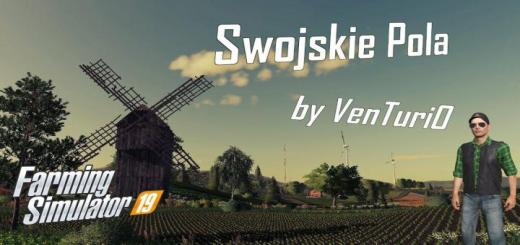 Photo of FS19 – Swojskie Pola Map V1