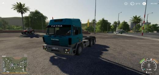 Photo of FS19 – Tatra 815 E2 6X6 Nth Truck V1