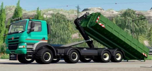 Photo of FS19 – Tatra Phoenix Agro-Truck Hooklift V1