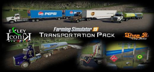 Photo of FS19 – Transportation Pack V1