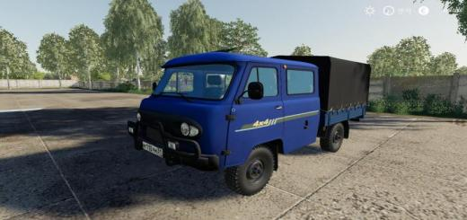 Photo of FS19 – Uaz 39094 Farmer V1