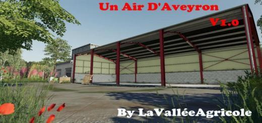 Photo of FS19 – Un Air Daveyron Map V1