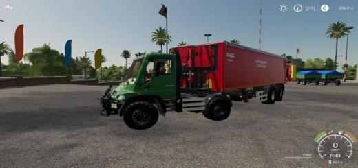 Photo of FS19 – Unimog U400 Truck V1