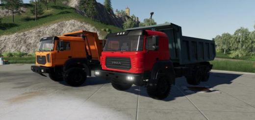 Photo of FS19 – Ural 6370K Truck V1.1