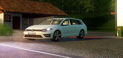 Photo of FS19 – Volkswagen Golf R Variant 2015 V1.7