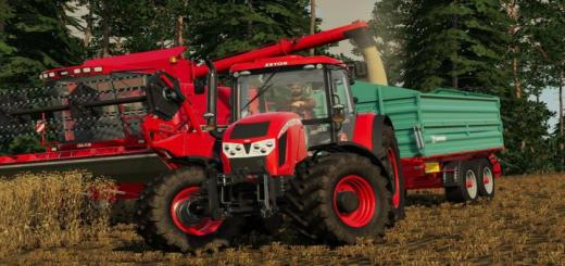 Photo of FS19 – Zetor Forterra Hd Tractor V1