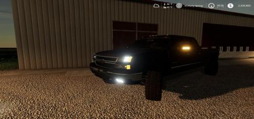 Photo of FS19 – 2006 Chevrolet 2500Hd Duramax White Lights V1.2.1