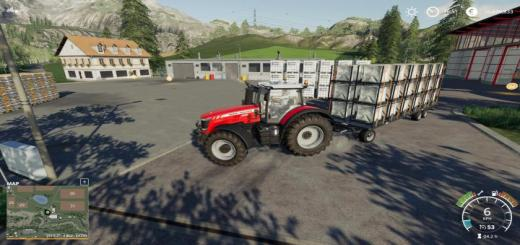 Photo of FS19 – Autoload Pack With 3 Tiers Of Pallet V2