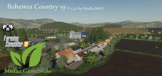 Photo of FS19 – Bohemia Country 19 Map V1.4.2 Final