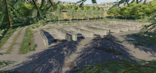 Photo of FS19 – Bunker Silo Set V1