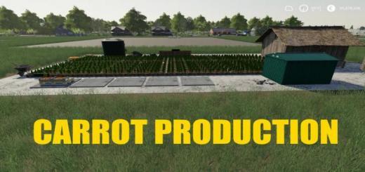 Photo of FS19 – Carrot Production V1