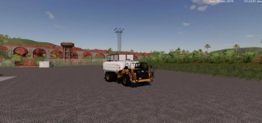 Photo of FS19 – Cat 773G Water Tank V0.1