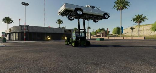 Photo of FS19 – Clark Forklift Converted V2