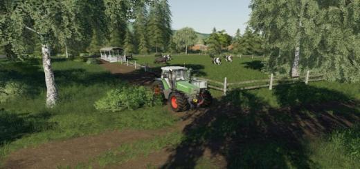 Photo of FS19 – Cow Pasture V1.0.0.1
