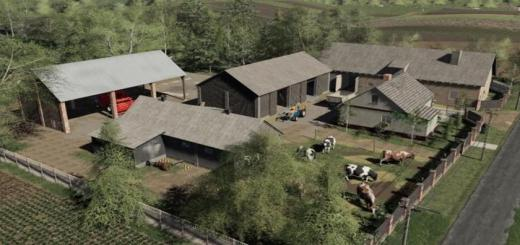 Photo of FS19 – Cows Barn Old V1