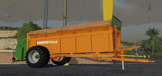 Photo of FS19 – Dangreville Trailer V1.5