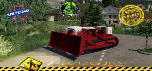 Photo of FS19 – Dozer Poclain Dc20 V1.5