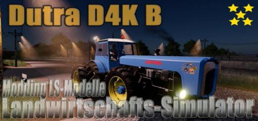 Photo of FS19 – Dutra D4K B V1