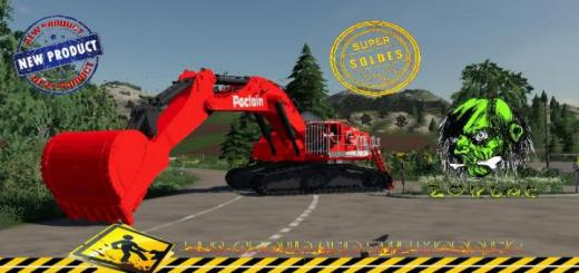 Photo of FS19 – Excavatrice Poclain 1000 V1.5