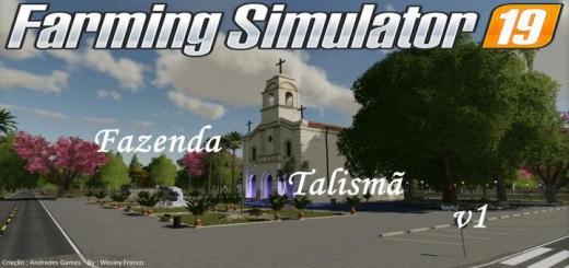 Photo of FS19 – Fazenda Talisma Map V1