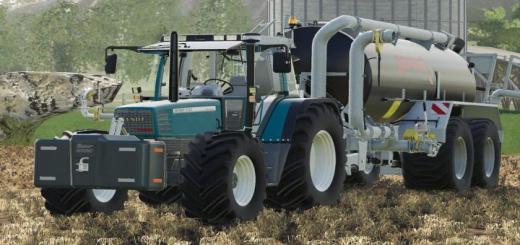 Photo of FS19 – Fendt Favorit 51X Tractor V6