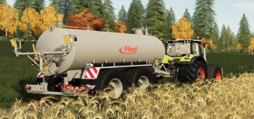 Photo of FS19 – Fliegl Vfw 18000 Trailer V1.1