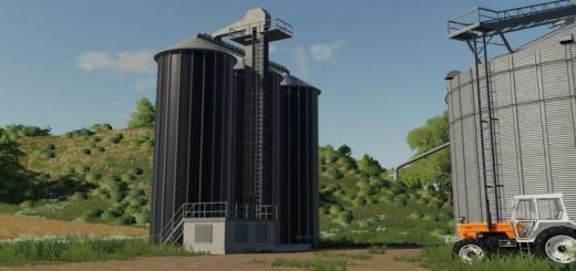 Photo of FS19 – Grain Silo Extension V1