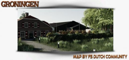Photo of FS19 – Groningen Map V1