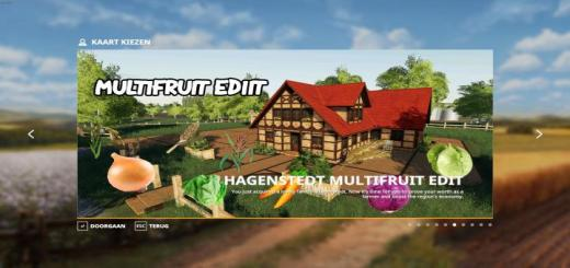 Photo of FS19 – Hagenstedt Multifruit Map V1
