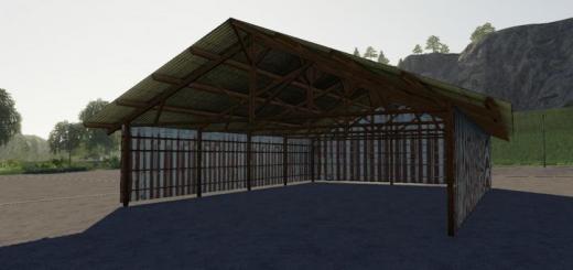 Photo of FS19 – Hangar Bois Metal V1