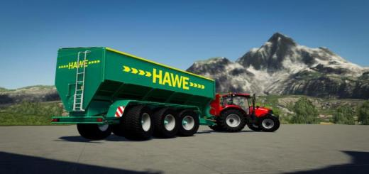 Photo of FS19 – Hawe Ulw 5000 Trailer V1