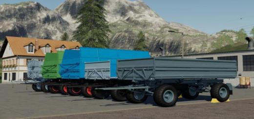 Photo of FS19 – Hw80 Trailer Pack V1