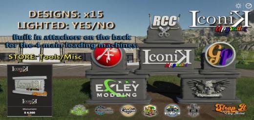 Photo of FS19 – Iconik Monument V1
