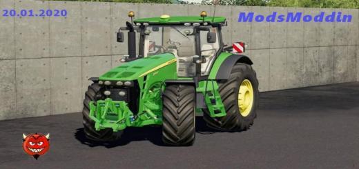Photo of FS19 – John Deere 8R 2009-2011 Tractor V1.5