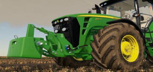 Photo of FS19 – John Deere 8R 2009 Tractor V1