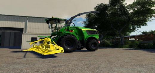 Photo of FS19 – John Deere 9000 Kemper Pack Farbwahl V1
