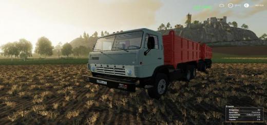 Photo of FS19 – Kamaz 55102 & Nefaz 8560 V1