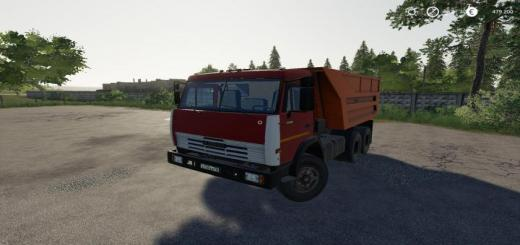 Photo of FS19 – Kamaz 55111 Savok V1.3