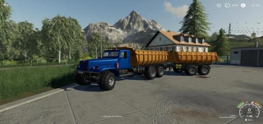 Photo of FS19 – Kraz-255B New Life V2.7.0.1