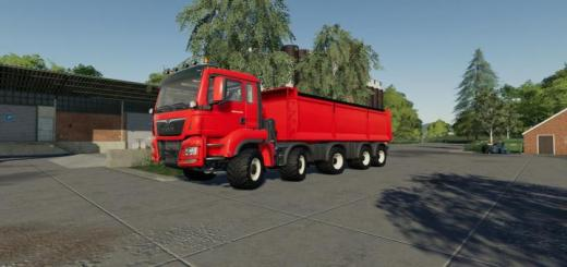 Photo of FS19 – Man Tgs 18.500 Kipper V1.0.3.0