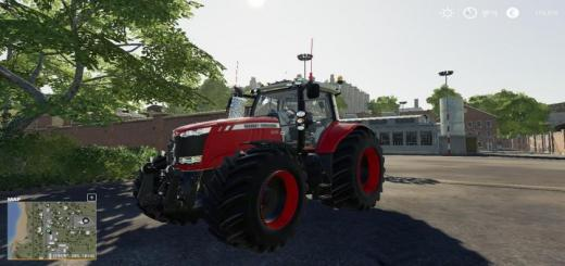 Photo of FS19 – Massey Ferguson 7700 Tractor V1
