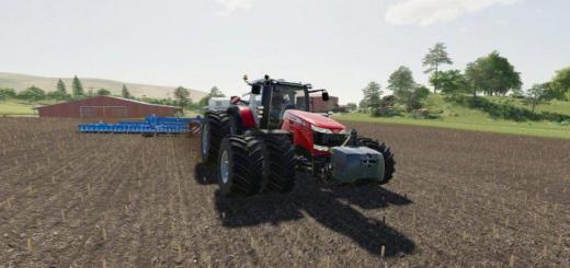 Photo of FS19 – Massey-Ferguson 8700 Tractor V1.0.1.0