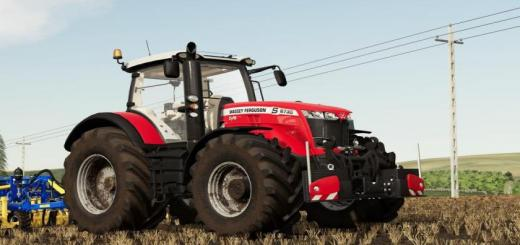 Photo of FS19 – Massey Ferguson 8700S Tractor V1.1
