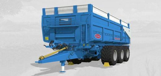 Photo of FS19 – Maupu Tdm 7632 Origine Red + Blue V1
