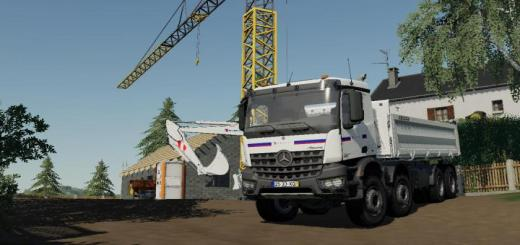 Photo of FS19 – Mercedes Arocs Truck V1