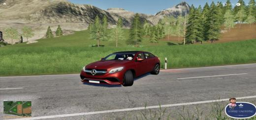 Photo of FS19 – Mercedes Gle V1