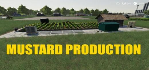 Photo of FS19 – Mustard Production V1